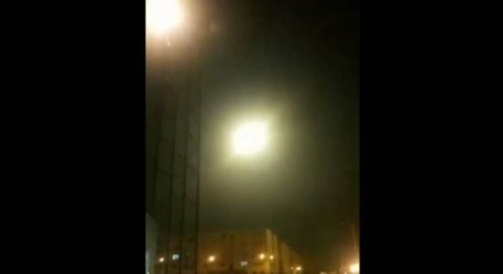 Jornal divulga vídeo que seria de míssil atingindo avião