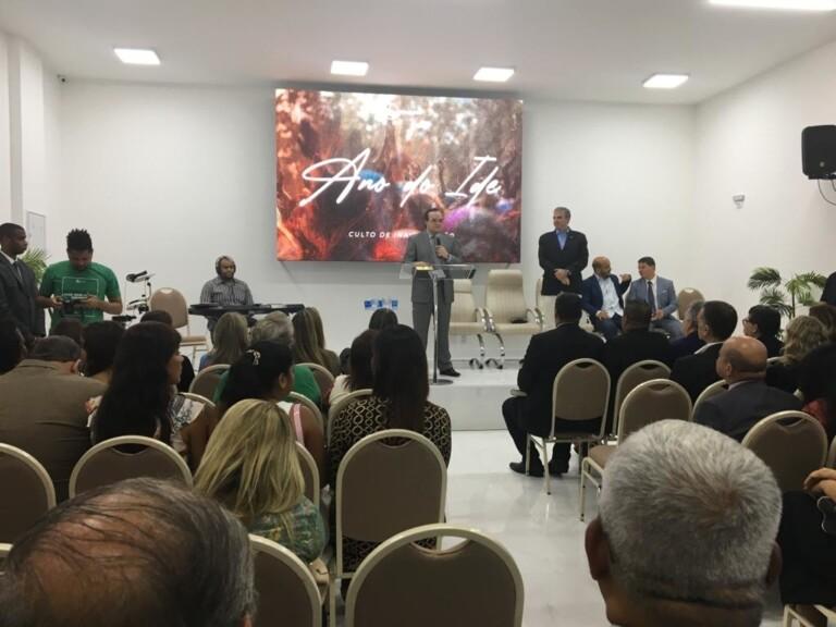 Inauguração da Assembleia de Deus Golf Club, na Barra da Tijuca, Zona Oeste do Rio de Janeiro
