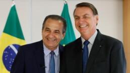 Pastor Silas Malafaia e o presidente Jair Bolsonaro
