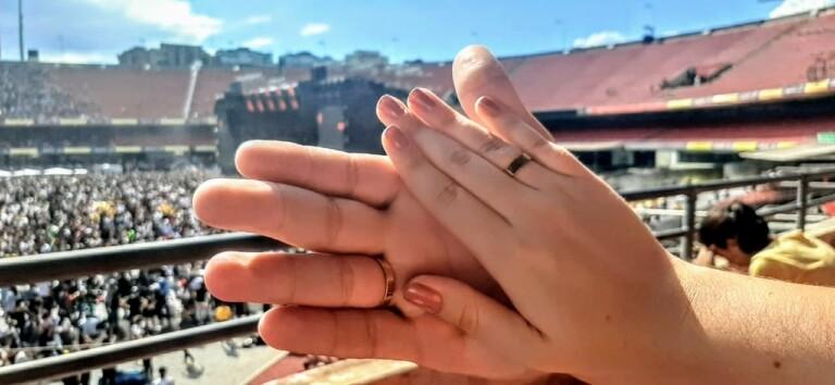 Vinícius pediu Jenifer em casamento durante o The Send