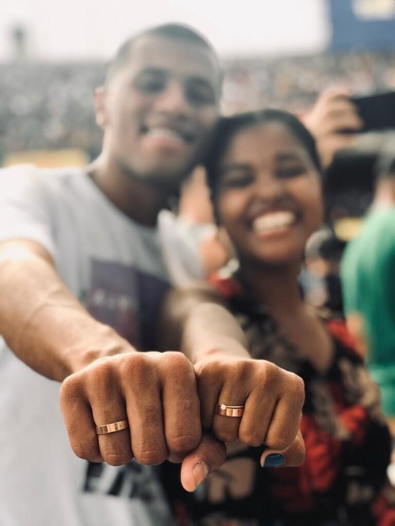 Matheus pediu Laila em casamento durante o The Send