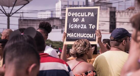 Bloco evangélico em Olinda, Pernambuco