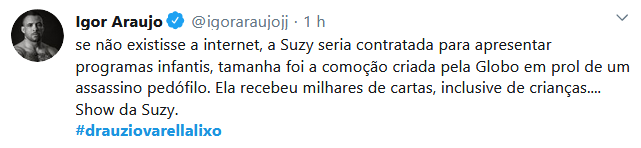 Usuários do Twitter criticam o médico Drauzio Varella