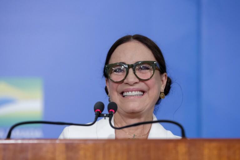 Regina Duarte assumiu cargo no governo federal