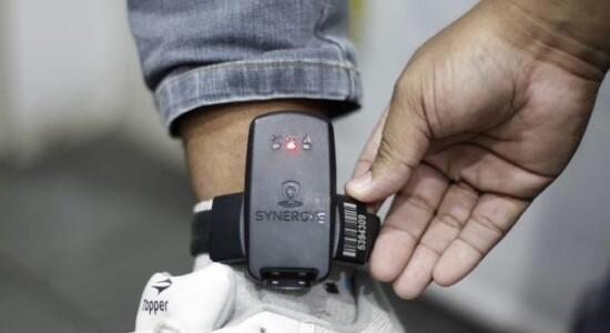 Monitoramento das tornozeleiras eletrônicas