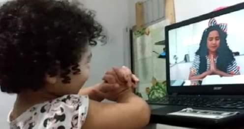 Vaneyse promove atividades para a garotada pelo Facebook