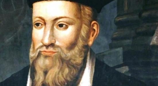 Representação de Nostradamus