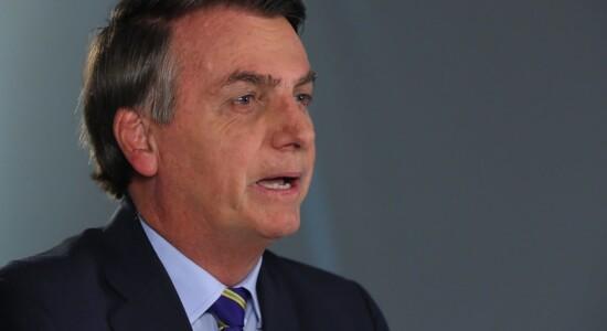 Bolsonaro faz pronunciamento