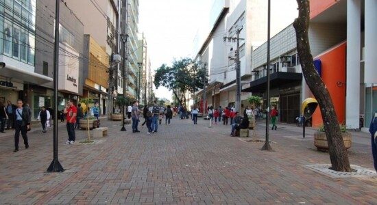 Comércio de Londrina, no Paraná