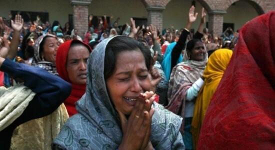 Cristão sofrem com ataques no Paquistão