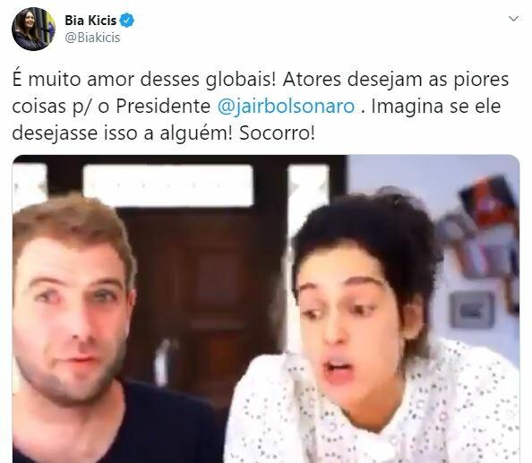 Internautas repudiam discurso de ódio de Maria Flor