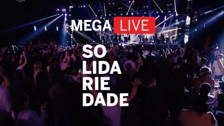 Mega Live Solidariedade - 20/06 às 17h
