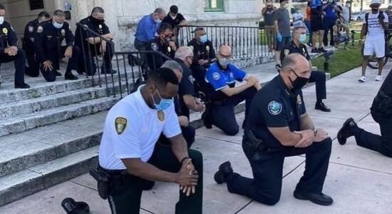 Manifestação em Miami por causa da morte de George Floyd