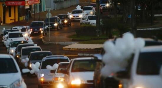 Cidade de Planalto, no Rio Grande do Sul, fez carreta após morte do menino Rafael Winques, de 11 anos
