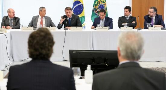 Reunião ministerial aconteceu no dia 22 de abril