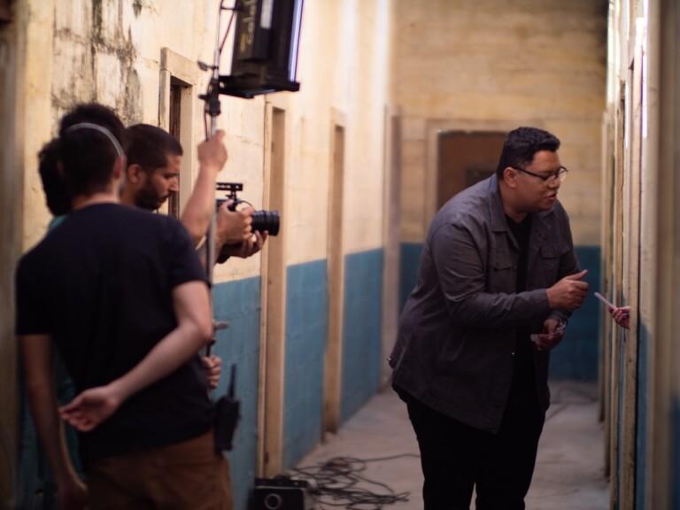 Anderson Freire grava clipe da canção Alma