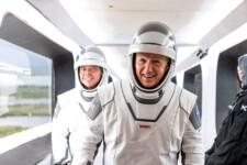 Astronautas da Space X