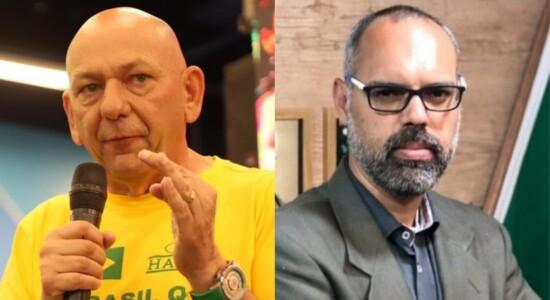 Luciano Hang e Allan dos Santos