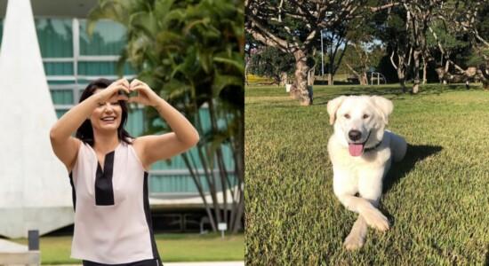 Michelle Bolsonaro comenta devolução de cachorro