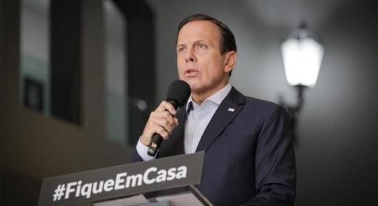 Governador de SP, João Doria