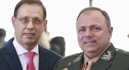 Carlos Wizard e general Eduardo Pazuello