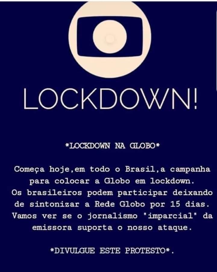 Internautas entram em guerra contra a Rede Globo