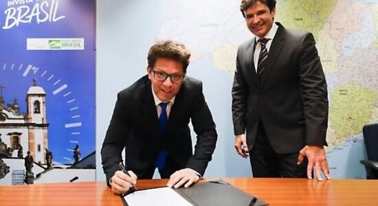 Mário Frias tomou posse na Secretaria de Cultura