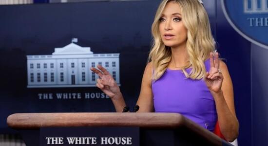 Nova secretária de Imprensa de Trump, Kayleigh McEnany
