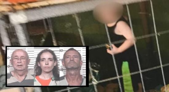 Criança de um ano foi encontrada em jaula