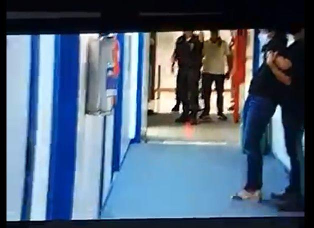 Homem invadiu a Rede Globo, no Rio, e fez a repórter Marina Araújo refém