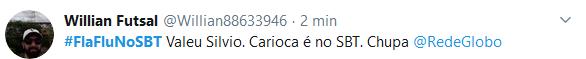 Web celebra final do Carioca e manda recado: #FlaFluNoSBT