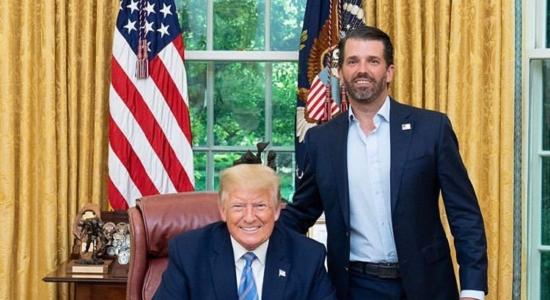Donald Trump e seu filho, Donald Trump Jr