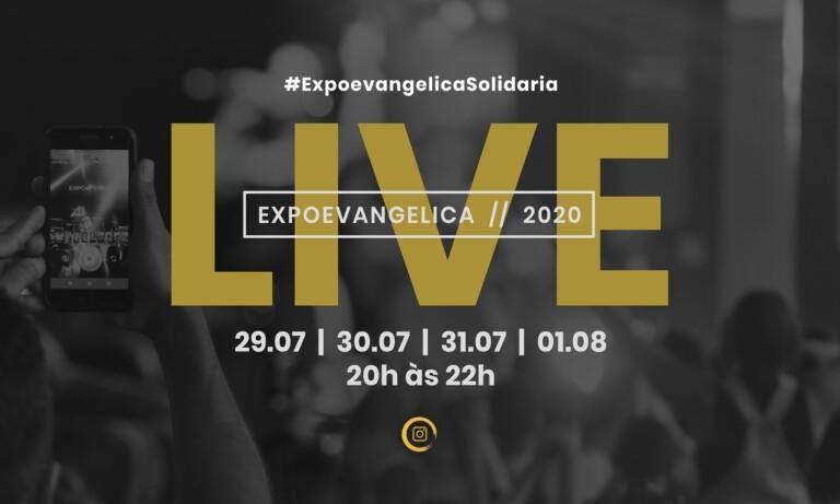 ExpoEvangélica - 29/07 a 01/08 às 20h