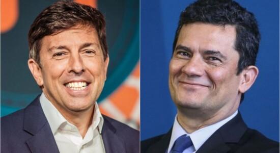 Sergio Moro e João Amoedo