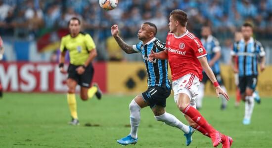 Partida entre Grêmio e Internacional