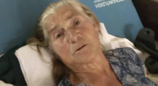 Maria Aparecida Ferreira, avó materna de Michelle Bolsonaro