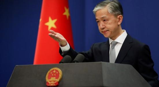 Wang Wenbin, ministro de Relações Exteriores chinês