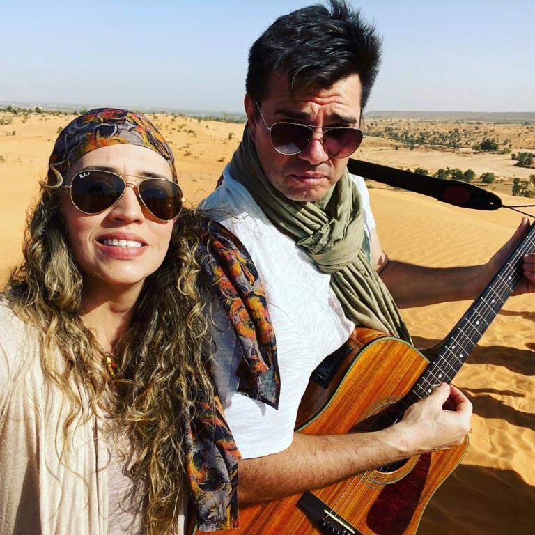 Alexandre Canhoni faz missões no Níger ao lado da esposa