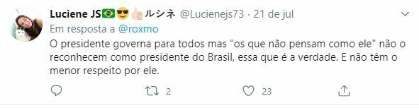 Web rebate críticas de Anitta a Bolsonaro