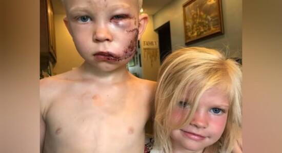 Bridger Walker e a irmã que foi salva por ele