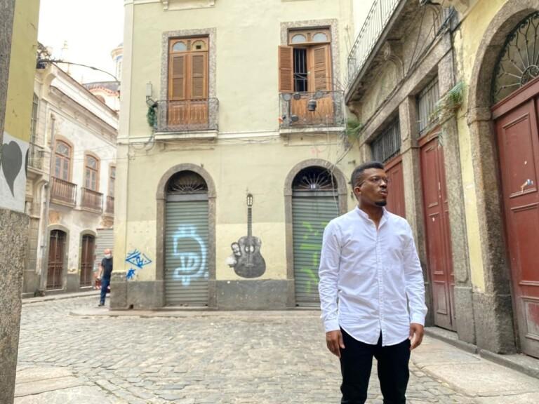 Delino Marçal gravou clipe no Rio de Janeiro