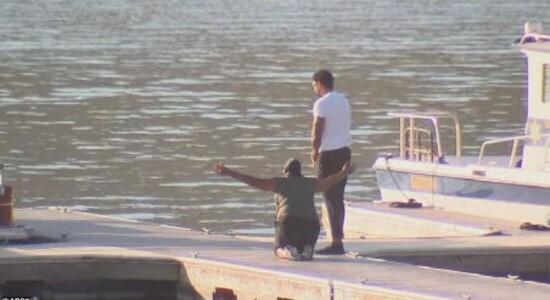 Mãe e irmão de Naya Rivera são vistos no lago