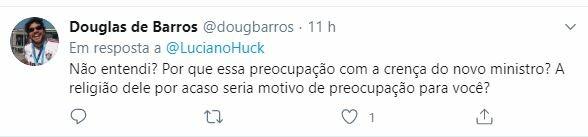 Internautas rebatem crítica de Luciano Huck a Milton Ribeiro