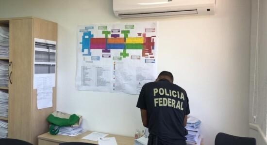 Polícia Federal cumpre mandados na Secretaria de Saúde de Aracaju