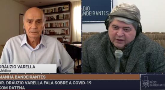 José Luiz Datena e Drauzio Varella