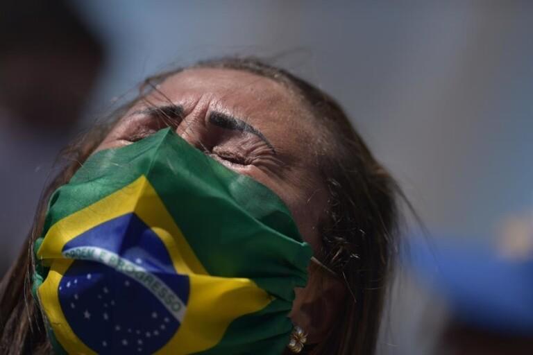 Ato a favor de Bolsonaro