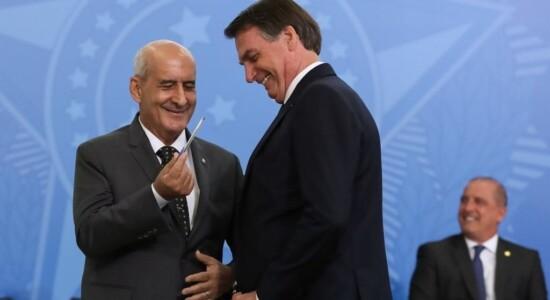Jair Bolsonaro e General Luiz Eduardo Ramos