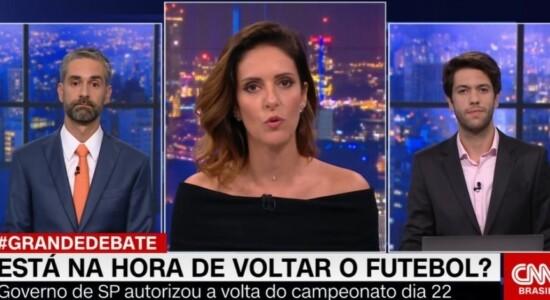 Caio Copolla e Augusto Botelho se desentendem no Grande Debate