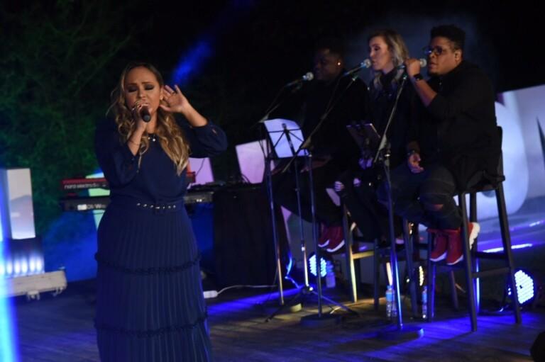 Bruna Karla participa do show live MK 10 Milhões
