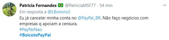 Usuários promovem boicote contra o Paypal